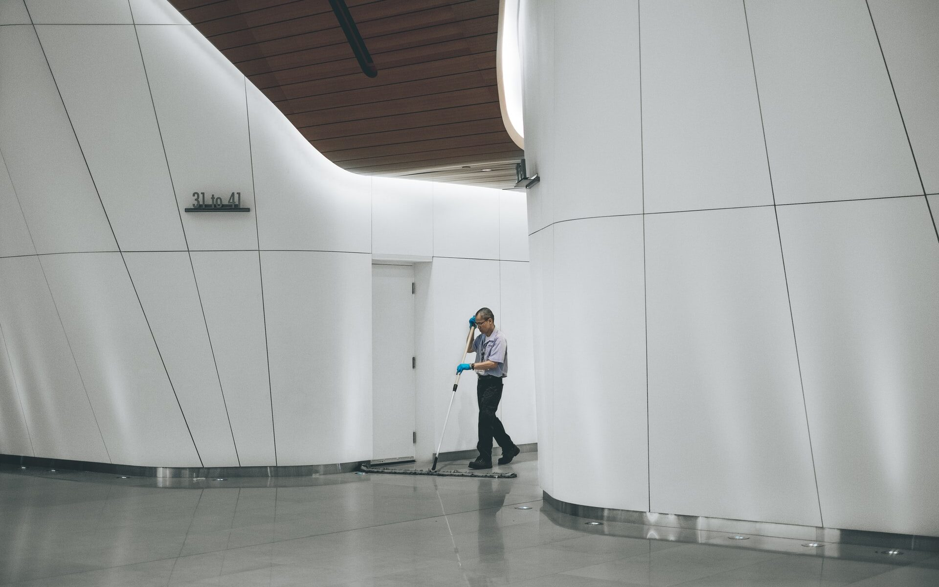 workplace cleaning